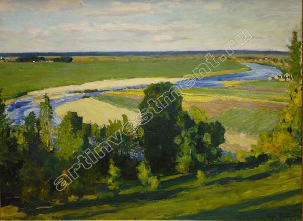 Игорь ГРАБАРЬ Вид на Москву-реку. 1922