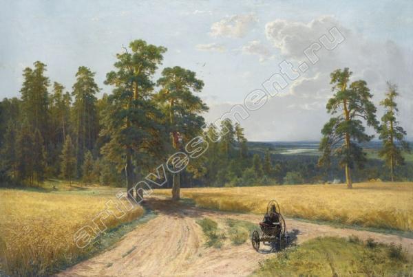 Иван ШИШКИН На опушке соснового леса. 1897