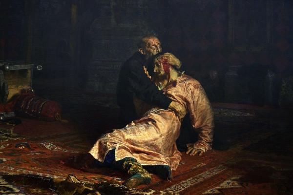 105 лет спустя: на «Ивана Грозного» Репина снова напали