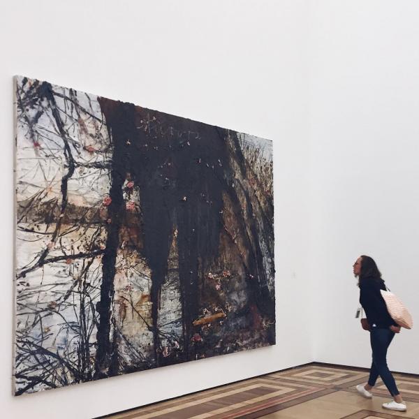«Эрмитаж» купил отличную картину Ансельма Кифера почти за миллион долларов