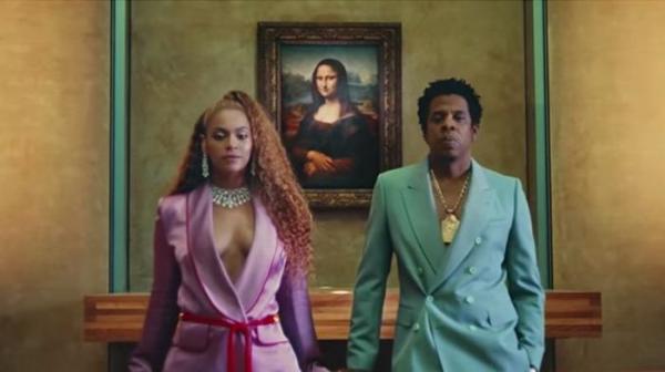 Бейонсе и Jay-Z сняли клип в Лувре