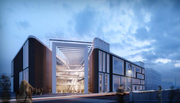 Новое здание Третьяковки на Кадашевской набережной достроят в 2020 году