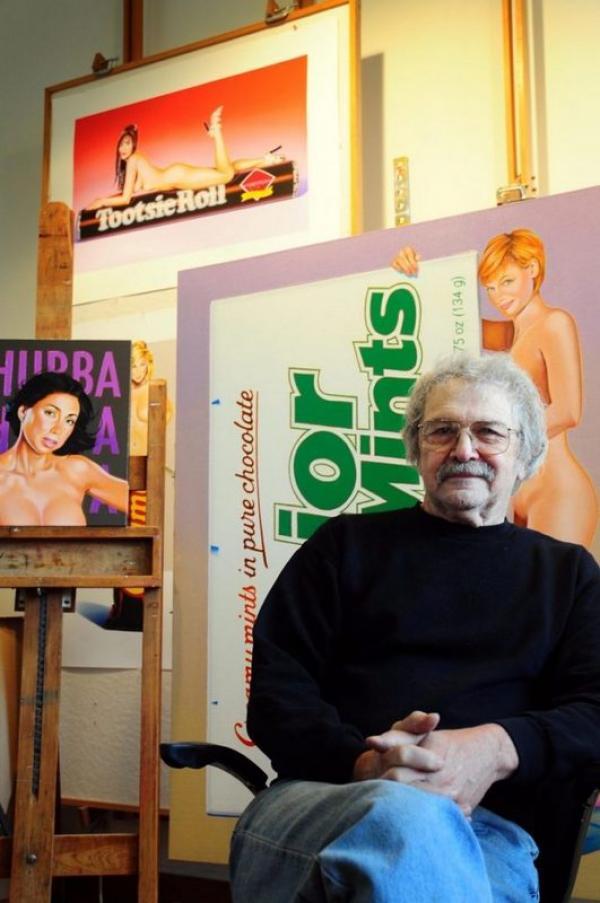 Скончался художник Мел Рамос