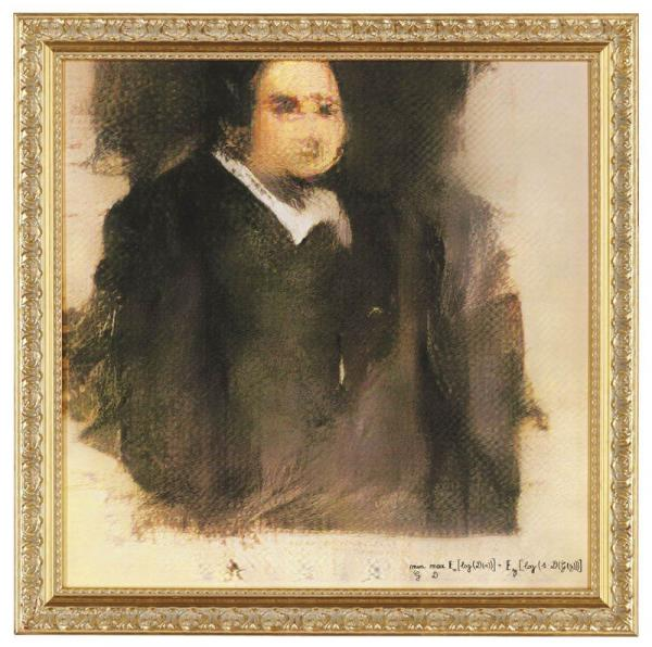 Впервые картина, «придуманная» нейросетью, продана на Christie's