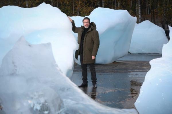 Олафур Элиассон привез в Лондон 30 гренландских айсбергов