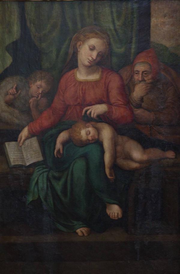 Предполагаемый Микеланджело похищен из бельгийской церкви