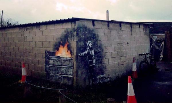 Новое граффити Бэнкси уже выкупил дилер за «шестизначную сумму»