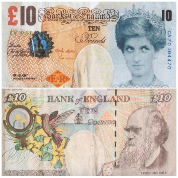 Британский музей включил в свое собрание первую работу Бэнкси