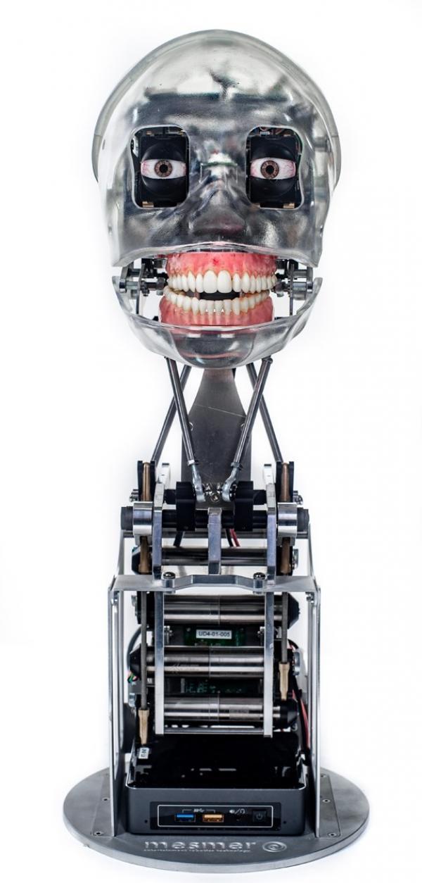 Британская Engineered Arts выпустила робота-художницу, способную держать кисть
