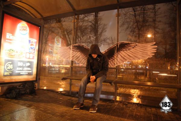 В Питере восстановят знаменитые ангельские крылья Паши 183