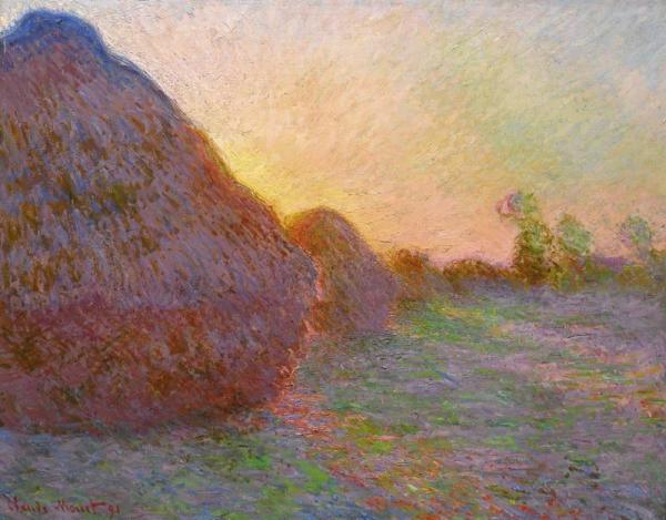 КЛОД МОНЕ Стога сена (Meules). 1890