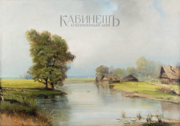 САВРАСОВ Алексей Кондратьевич (1830–1997) Летний день. 1870–80-е