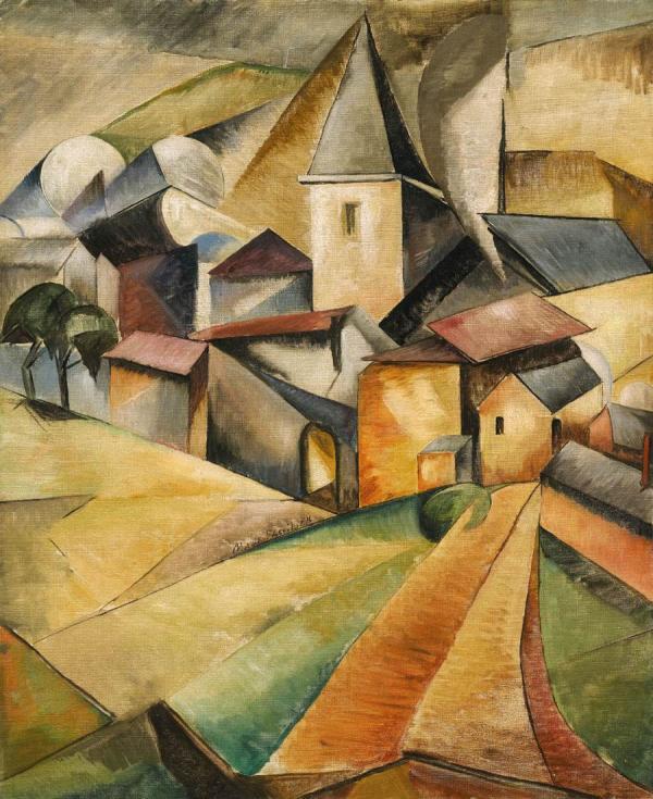 ВАСИЛЬЕВА Мария Васильевна (1884–1957) Испанская деревня