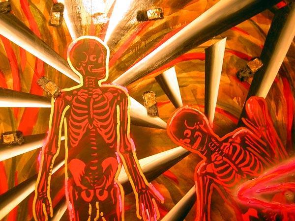 Изгнание из рая. 1990. Фрагмент